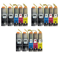 3 Go Inks Compatible Set of 4 + Extra Black to replace Brother LC3211 Compatible / non-OEM for Brother DCP & MFC Printers (15 Inks)