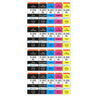 4 Go Inks Set of 5 Ink Cartridges to replace Epson 202XL Compatible / non-OEM for Epson Expression Photo Printers (20 Inks)