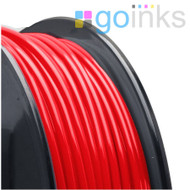 Go Inks Red 3D Printer Filament - 1KG - ABS - 1.75mm. Dimensional Accuracy +/- 0.05mm