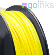 Go Inks Yellow 3D Printer Filament - 0.5KG (500g) - ABS - 1.75mm. Dimensional Accuracy +/- 0.05mm