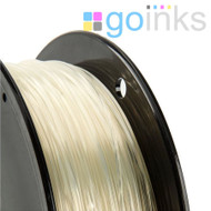 Go Inks Transparent 3D Printer Filament - 1KG - ABS - 1.75mm. Dimensional Accuracy +/- 0.05mm