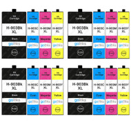 4 Go Inks Set of 4 Printer Ink Cartridges to replace HP 903 (XL Capacity) Compatible / non-OEM for HP Officejet Printers (16 Inks)