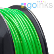 Go Inks Green 3D Printer Filament - 1KG - ABS - 1.75mm. Dimensional Accuracy +/- 0.05mm