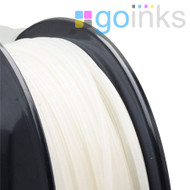 Go Inks Natural 3D Printer Filament - 0.5KG (500g) - PLA - 1.75mm. Dimensional Accuracy +/- 0.05mm