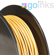 Go Inks Gold 3D Printer Filament - 0.5KG (500g) - PLA - 1.75mm. Dimensional Accuracy +/- 0.05mm