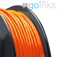 Go Inks Orange 3D Printer Filament - 0.5KG (500g) - PLA - 1.75mm. Dimensional Accuracy +/- 0.05mm