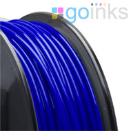 Go Inks Blue 3D Printer Filament - 0.5KG (500g) - PLA - 1.75mm. Dimensional Accuracy +/- 0.05mm