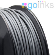 Go Inks Grey 3D Printer Filament - 0.5KG (500g) - PLA - 1.75mm. Dimensional Accuracy +/- 0.05mm