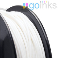 Go Inks White 3D Printer Filament - 0.5KG (500g) - PLA - 1.75mm. Dimensional Accuracy +/- 0.05mm