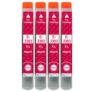 4 Go Inks Magenta Ink Cartridges to replace Epson T3363 (33XL Series) Compatible / non-OEM for Epson Expression Premium Printers
