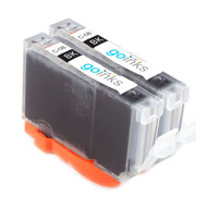 2 Go Inks Black Ink Cartridges to replace Canon CLI-8Bk Compatible / non-OEM for PIXMA & Pixus Printers