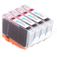 4 Go Inks Photo Magenta Ink Cartridges to replace Canon CLI-8PM Compatible / non-OEM for PIXMA & Pixus Printers