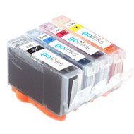 1 Go Inks Set of 4 Ink Cartridges to replace Canon PGI-5 & CLI-8 Compatible / non-OEM for PIXMA & Pixus Printers (4 Pack)