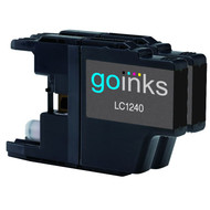 2 Go Inks Black Ink Cartridges to replace Brother LC1240BK & LC1220Bk Compatible / non-OEM for Brother DCP & MFC  Printers