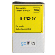 1 Go Inks Yellow Laser Toner Cartridge to replace Brother TN245Y Compatible / non-OEM for Brother DCP, MFC & HL Printers