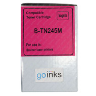 1 Go Inks Magenta Laser Toner Cartridge to replace Brother TN245M Compatible / non-OEM for Brother DCP, MFC & HL Printers