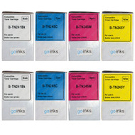 2 Go Inks Set of 4 Laser Toner Cartridges to replace Brother TN245 Compatible / non-OEM for Brother DCP, MFC & HL Printers