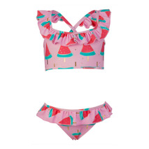 Girls Ruffle Two Piece Bikini SwimSet