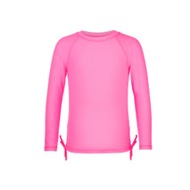 Girls Long Sleeve UPF 50+ Rash Guard Shirt