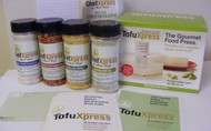 TX30 Ultimate Tofoodie - TofuXpress Gourmet Tofu Press w/Accessories