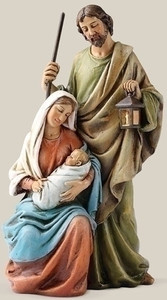 "6.25"" Holy Family Statue"
