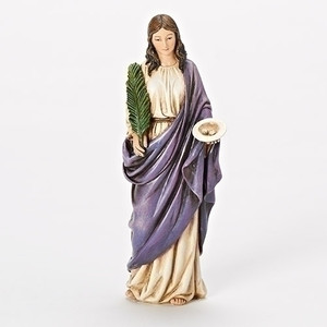 "6"" Saint Lucy Statue"