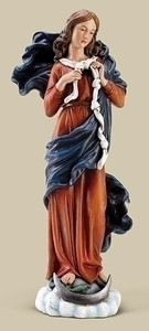 "10"" Mary, Undoer Of Knots Statue"