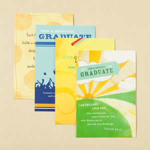 Boxed Contemporary Inspiration Graduation Cards - with Scripture