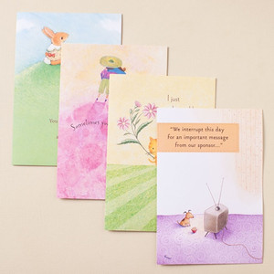 Furry Friends Encouragement Boxed Cards