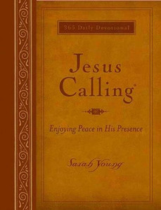 Jesus Calling: Enjoying Peace in His Presence (Large Deluxe)