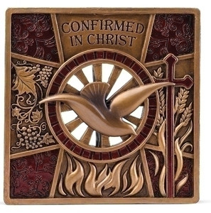 Confirmation Holy Spirit Plaque