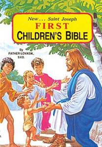 New... Saint Joseph First Children's Bible