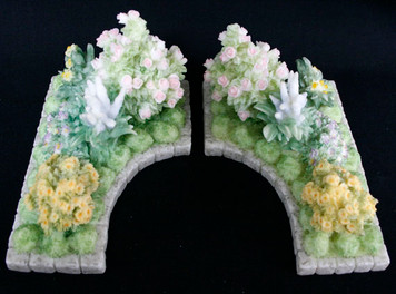 Set of Two Flower Beds for the Seraphim Classics Collection