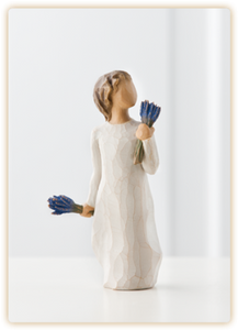 Lavender Grace Willow Tree® Figure