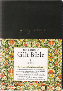Catholic Gift Bible - NRSV - Black Soft Imitation Leather