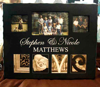 Personalized Large Love Photo Frame