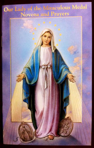 Our Lady of the Miraculous Medal Novena and Prayers  Book