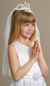 Natalie First Communion Veil