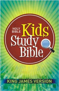 Kids King James Study Bible