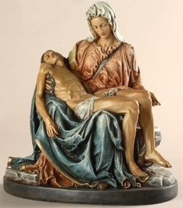 "10"" Pieta Statue Renaissance Collection"