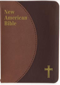 Brown Duotone New American Bible Personal Size