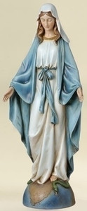 "14"" Our Lady of Grace Statue Renaissance Collection"