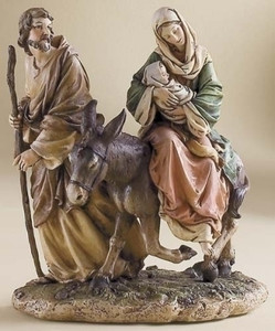 "9"" Flight into Egypt Renaissance Collection"