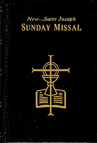 Black Hardcover Saint Joseph Sunday Missal