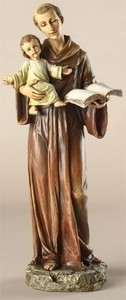 "10.5"" Saint Anthony Statue Renaissance Collection"