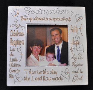 White Godmother Frame