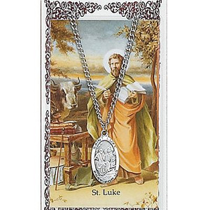 Saint Luke Prayer Card Set