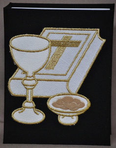 First Communion Photo Album - Black