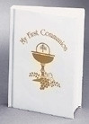 My First Communion Mass Book White