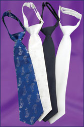 Blue Nylon First Communion Tie